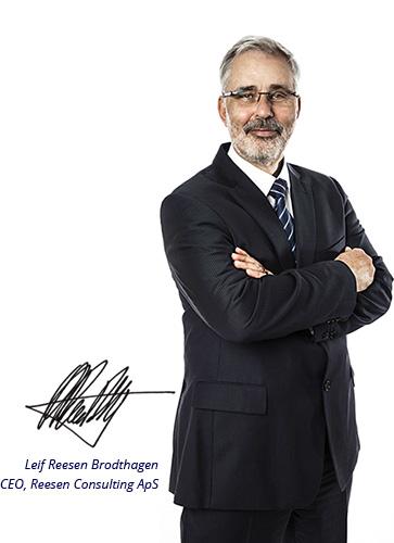 Leif Reesen Brodthagen, CEO & Founder - Reesen Group